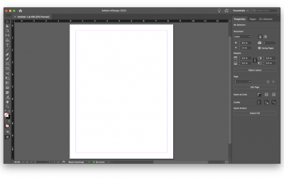 How to build a layout template for a book